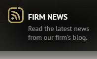 Read the latest news from our firm's blog.